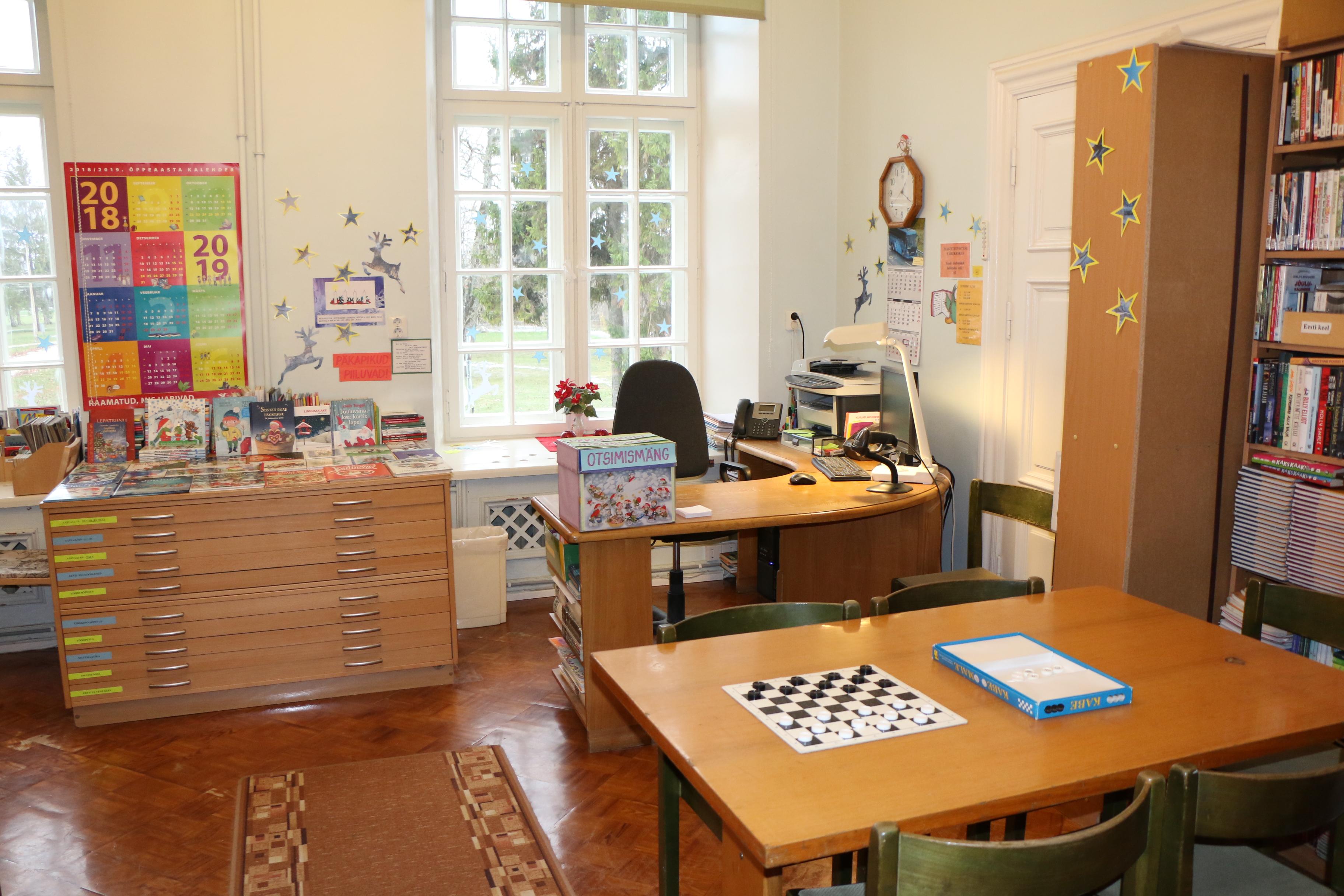 Uuemõisa Lasteaed-Algkooli raamatukogu